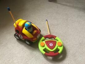 Remote control car racer