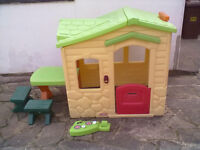 Little Tikes Picnic On The Patio Playhouse - Roundhay Park Leeds 8 Can Deliver - Rare colour