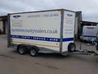 FOR HIRE Car Transporters, Flat Bed Trailers, Box Trailers, Motorbike Trailers, Horsebox Trailers