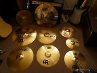 Cymbal job lot. Please read add.
