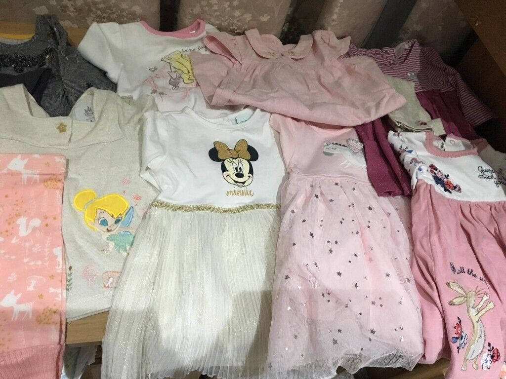 729fcf49bdd6 Baby girl 0-6 months clothes bundle (94 items)