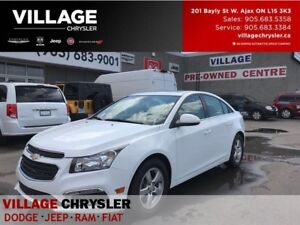 2015 Chevrolet Cruze 2LT|Leather|Heated Seats|Sunroof|Bluetooth|