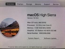 iMac 27in spares and repairs