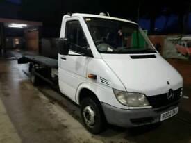 mercedes sprinter recovery truck 413 twin wheeler fresh build