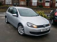 2011 VW GOLF 1.6 TDI BLUEMOTION TECH MATCH MANUAL 5 DOOR SILVER LOW MILEAGE LONG MOT FULLY LOADED