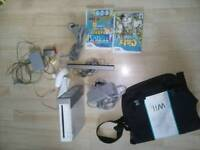 Wii bundle with bag