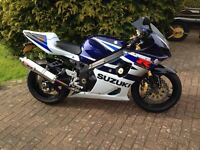 GSXR 1000 K4 Low mileage Stunning !