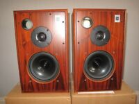 HARBETH M30.1 ROSEWOOD LOUDSPEAKERS MINT CONDITION WITH ORIGINAL BOX