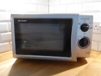 Microwave oven.