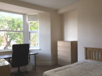 Avail Sept large bedroom at £91pw for post grad student in 3 bed upper Sandyford flat on Helmsley Rd