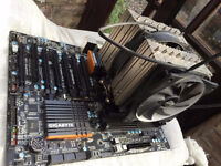 High End PC Parts - 8 core 4.7ghz AMD FX-9590, 16 GB Corsair DDR3 Ram, Gigabyte GA-990FXA-UD7, more
