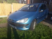 Peugeot 206 2.0 HDI 2003 WITH CLIFFORD ALARM!