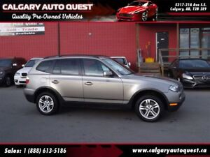 2008 BMW X3 3.0i AWD / LEATHER / PANO-ROOF