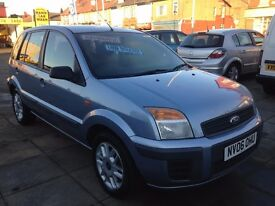 2006 Ford Fusion 1.4 Automatic low mileage