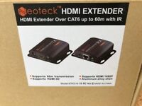 HDMI Extender over Cat6 cable