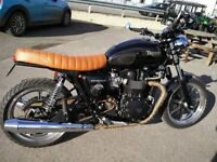 Triumph Bonneville SE Custom Brat/Cafe 2012 (12) 7000 miles with many mods, see description: