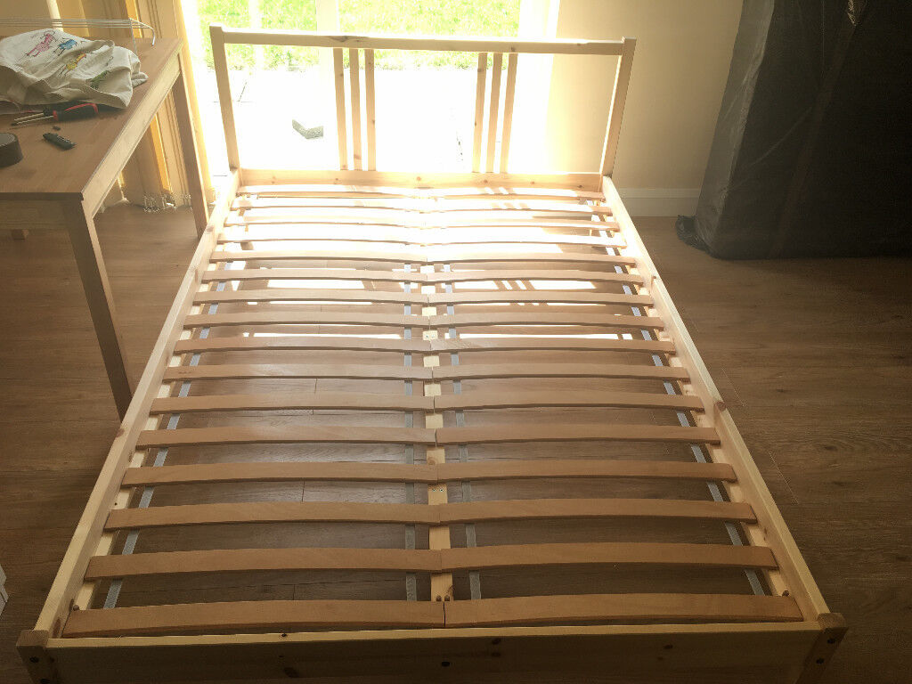 Double QUEEN size bed Frame