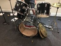 CB Percussion MX Series Drum Kit With Symbols - Slight Damage to one drum