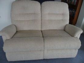 Recliner Settee & 2 Recliner Armchairs
