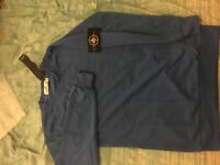 Stone island Logo badge sweatshirt Small
