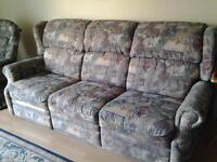 sofa 3 places Elran inclinable