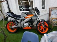 Derbi nude 125cc 2strok fast bike