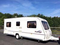 Bailey Pageant Bordeaux Fixed Bed Caravan - 4 Berth Caravan With Motor Mover