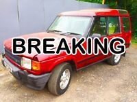 **Breaking** Land Rover 1996 Discovery TDi 300 Discounted All Parts Engine Gear Box Landrover
