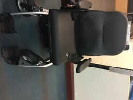 Vanos Excel (Bariatric) Electric Powered Wheelchair with new batteries