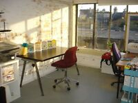 Desk Space Available in Warm, Bright Studio, Netil House, Hackney