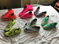 Few pairs of high end football boots for sale