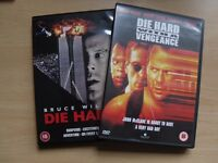 DIE HARD & DIE HARD WITH A VENGEANCE DVDS