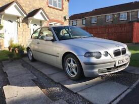 BMW 325ti 12 month M.O.T