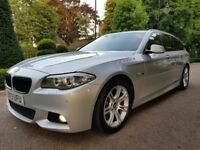 BMW 5 Series 2.0 520d M Sport Touring 5dr Full BMW Service History 1 owner From New Sat Navigation