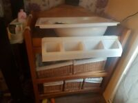 Baby changing unit with bath for sale