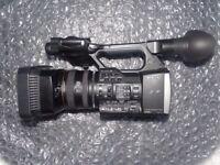 Sony FDR-AX1 Digital 4K UHD Professional Handycam + Bag, Memory, and Extras