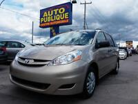 TOYOTA SIENNA 2007 CE WAGON ***GROUPE ELECTRIQUE*** AIR CLIMATIS