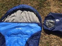 Trespass Kids 1-2 Season Sleeping Bag