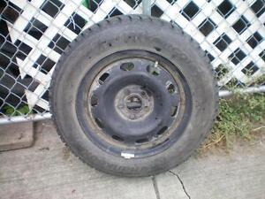 1 Hankook I Pike RC 01 Winter Tire on Rim * 195 65R15 91T * $50.00 .  M+S / Winter Tire on Rim 5 Bolt Pattern