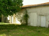 Barn & Building Plot project in Richelieu France