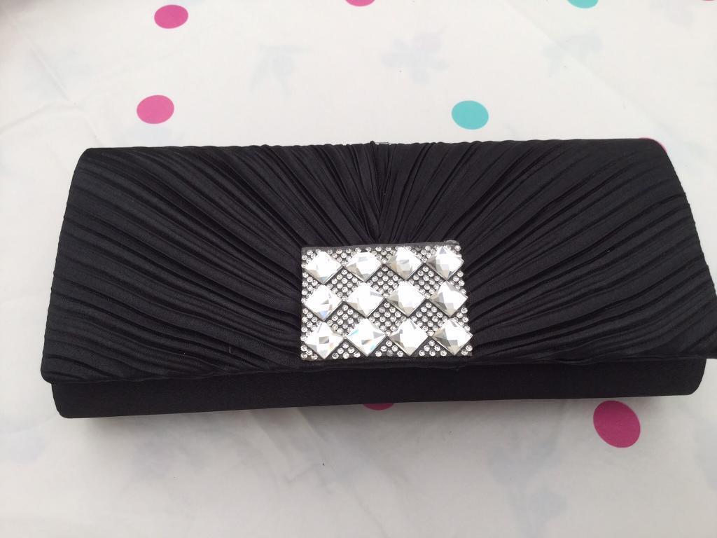Brand new ladies evening Clutch Bag - Black