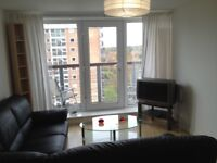 Lakeside 1 Bedroom Apartment - 9th floor flat with views over Manchester - close to Metrolink