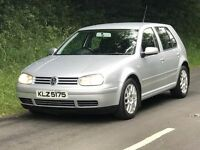 Mint 2002 MK4 VW GOLF 1.8T GTI 5dr 150bhp, only 111k fsh, trade in considered, credit cards accepted