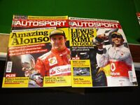 AUTOSPORTS COLLECTION OF ABOUT 650 MAINLY 70s 80s 90s