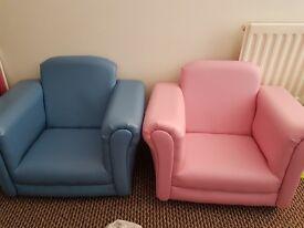 Kids armchairs.