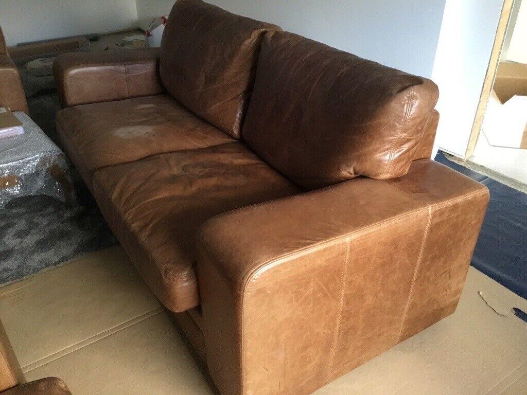 Superb Indigo Furniture Broad Arm Grand Leather Sofa In Carmarthen Carmarthenshire Gumtree Forskolin Free Trial Chair Design Images Forskolin Free Trialorg