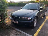 BMW 320d se turbo diesel estate spares or repairs