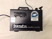 Iwata Studio Series Compressor and Airbrush