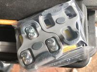 Look Keo Grip Genuine Grey Cleats Brand New