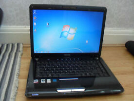 TOSHIBA SATELLITE A300 .INTEL DUAL CORE , 300GB , 4GB , HDMI , WEBCAM , WIRELESS